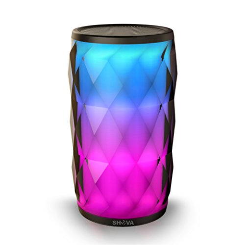 SHAVA Jewel Portable Wireless Bluetooth Speaker Touch Control 6 Color LED Themes