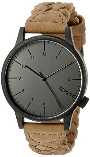 KOMONO Winston Woven Analog Display Watch