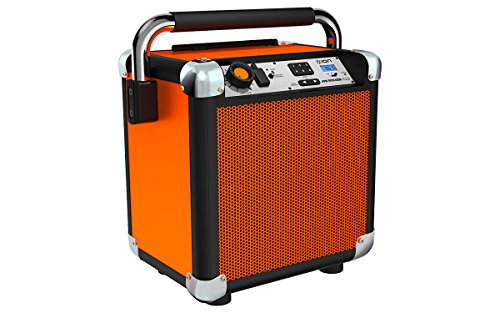 ION Audio Rocker Plus | Portable Heavy-Duty Jobsite Bluetooth Speaker System