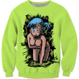 Baby Gurl Remastered Green Sweatshirt