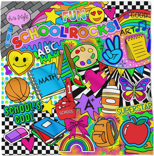 School Rocks Bandana