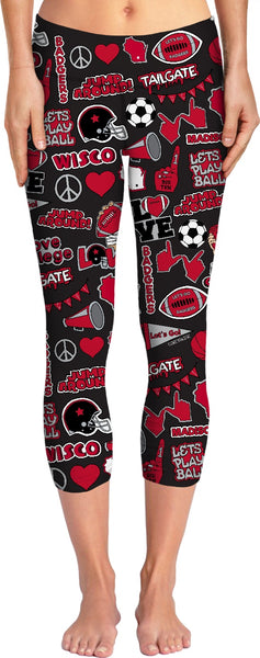 Peace Love Wisco Yoga Pants