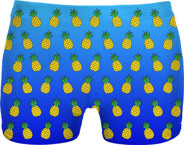 Pineapple Blue Ombre Underwear