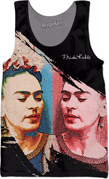 Frida Halftone Double-Sided Tank Top