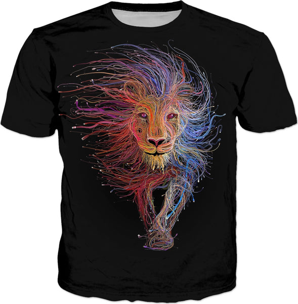 Lion Tapestry T-Shirt