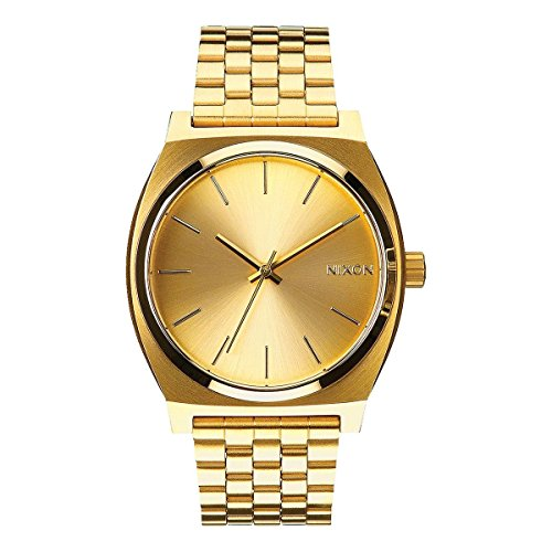 Nixon Time Teller Gold Watch