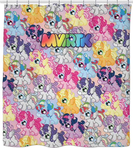 MVTRTK ALICORN Shower Curtain