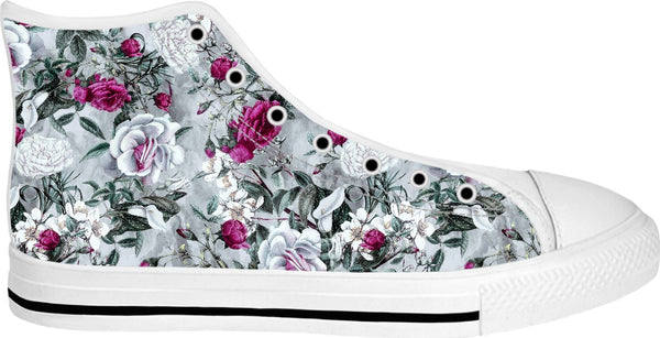 Floral II High Top Shoes