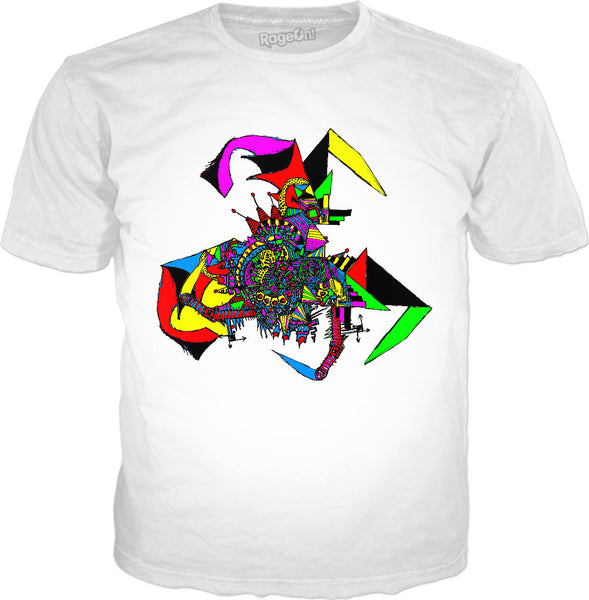 Alien Bat Mobile Classic T-Shirt