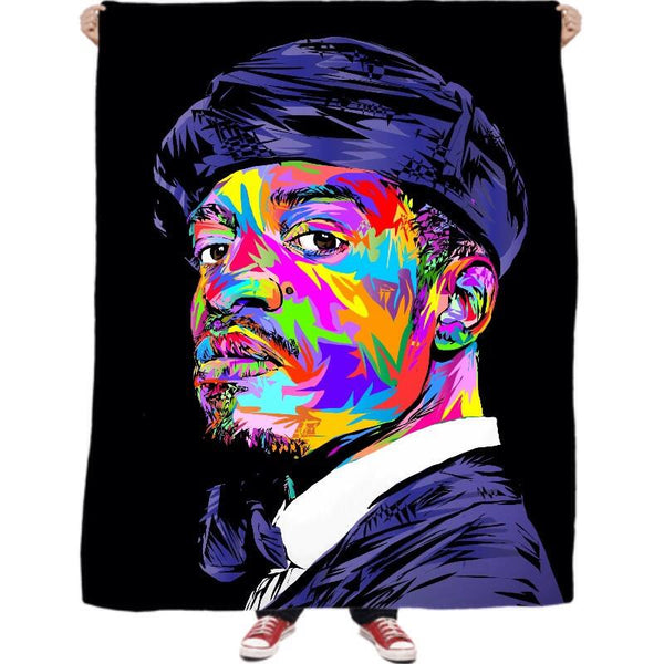3 Stacks Fleece Blanket