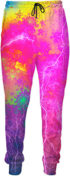 Blue And Pink Prophecy Joggers