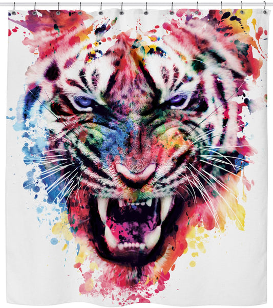 Tiger IV Shower Curtain
