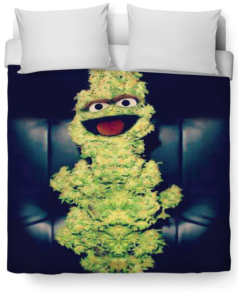 Oscar the Nug Duvet Cover