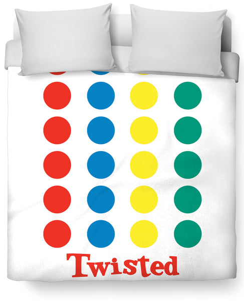 Twisted Duvet Cover