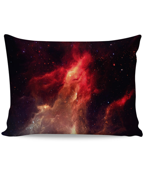 Crimson Nebula Pillow Case