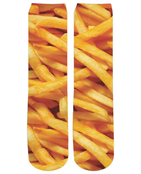 French Fries Crew Socks