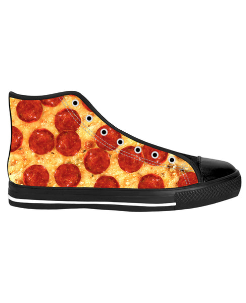 Pizza Black Sole High Top Shoes