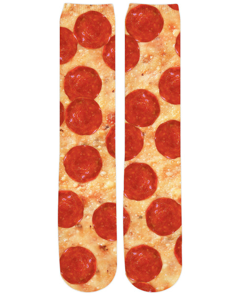 Pizza Knee High Socks
