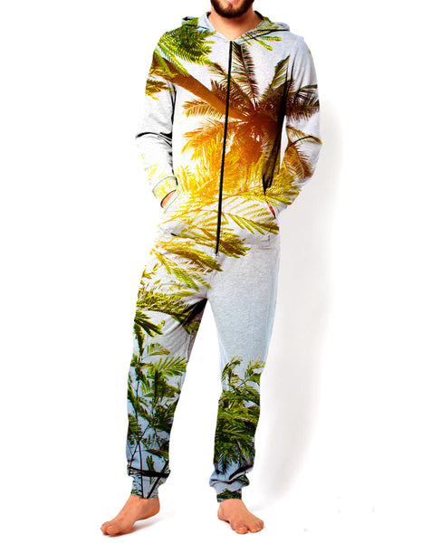 Palm Trees Jumpsuit Onesie