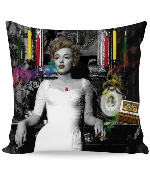 Marilyn Smoking Couch Pillow