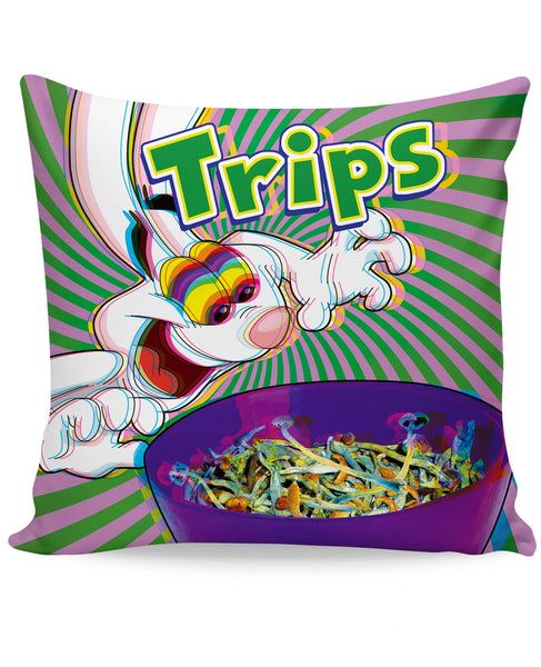 Trips Aren't For Kids Couch Pillow