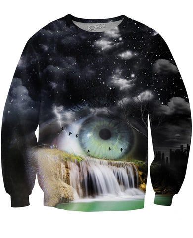 Eye Fall Crewneck Sweatshirt