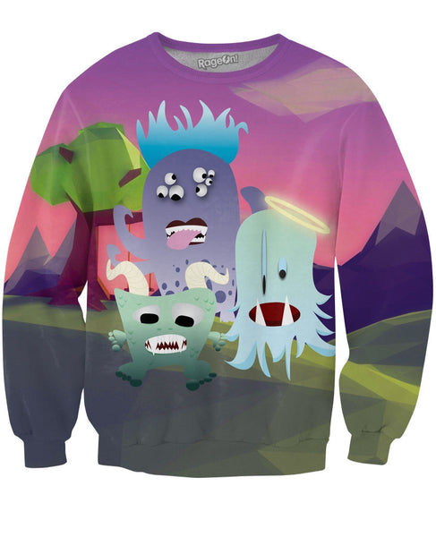 Very Scary Crewneck Sweatshirt