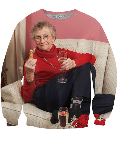 Date Night with Sue Johanson Crewneck Sweatshirt