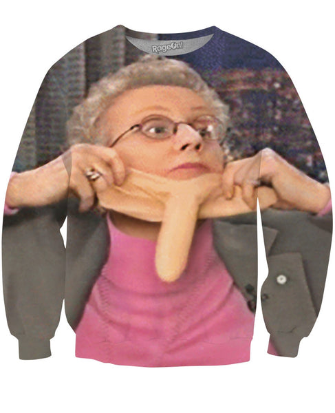 Sex Talk with Sue Johanson Crewneck Sweatshirt