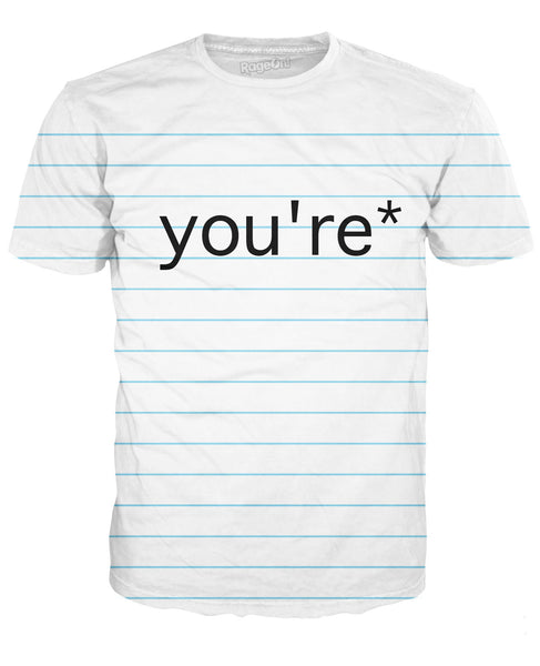 Good Grammar You're* T-Shirt