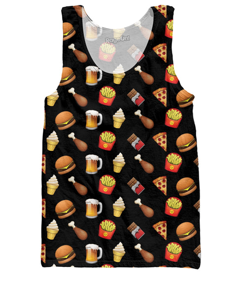 Junk Food Emojis Tank Top