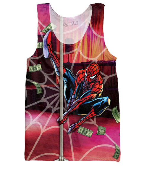 Stripper Spiderman Tank Top