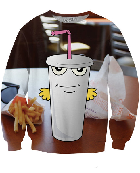 Master Shake in Real Life Sweatshirt