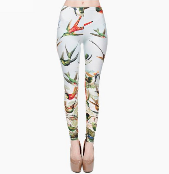 Birds of Paradise Leggings