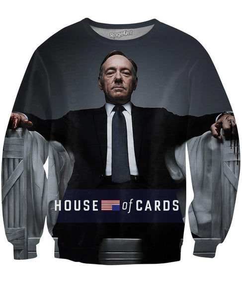 House of Cards Frank Underwood Crewneck Sweatshirt