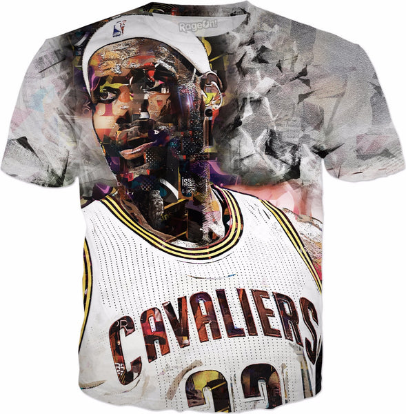 King James Collage T-Shirt