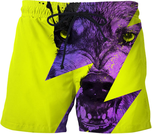 Thunderwolf Swim Trunks