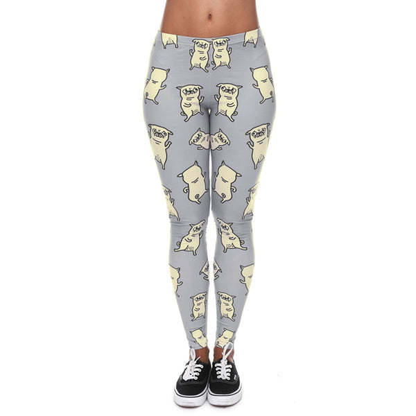 Dancing Pug Leggings