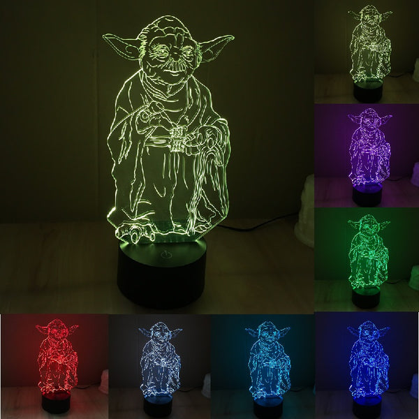 Star Wars Yoda LED Table Lamp