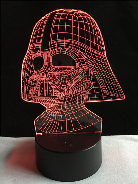 Darth Vader 3D Led Touch Sensor Table Lamp (7 Colors)