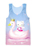 Swan Princess Tank Top