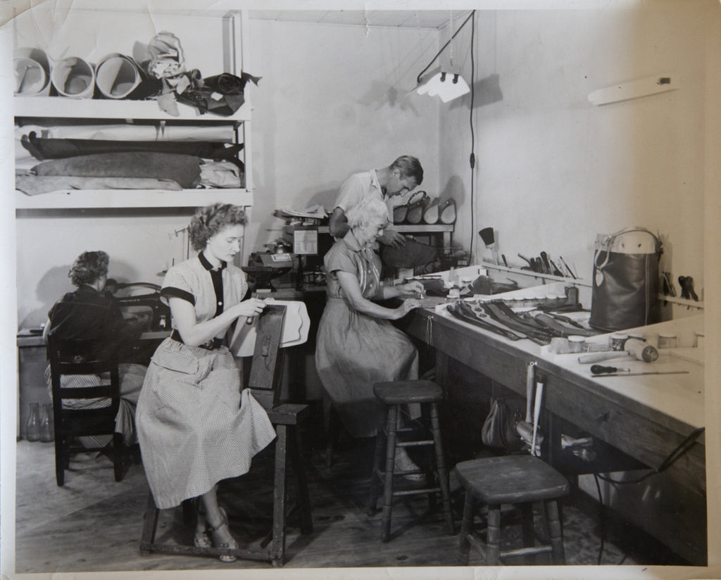 Collins of Texas Handbag Workshop in the Early 50's