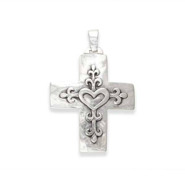 Open Heart Cross