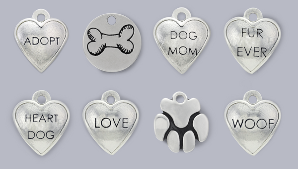 pet themed charms photo charms pet memorial jewelry