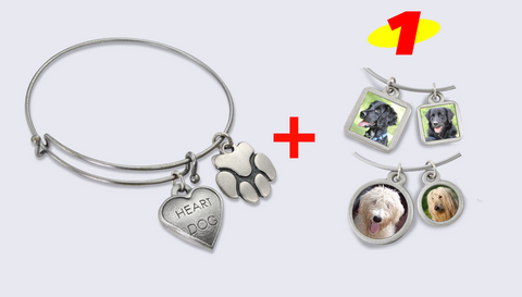 bangle bracelet for pet lovers