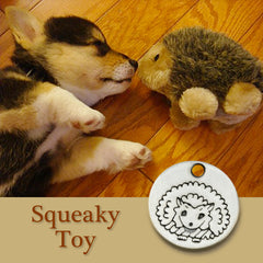 Squeaky Toy Dog Charm