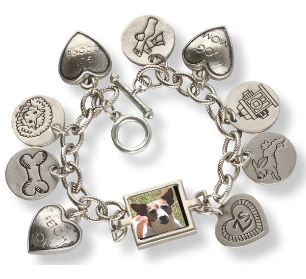 Customer The Hound Charm Photo Bracelet