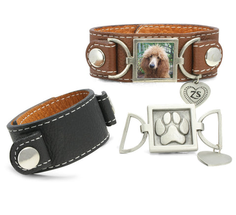 leather cuff bracelet wristband