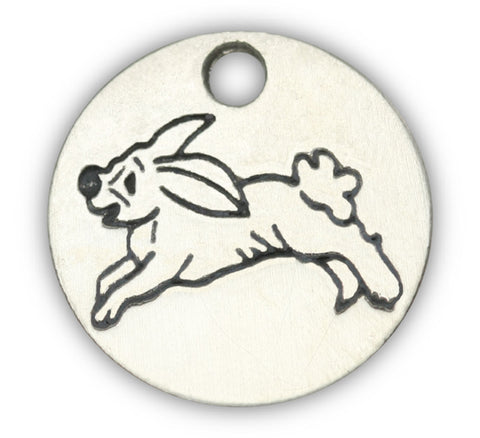 Bunny dog charm for dog charm bracelet jewelry and dog charm photo bracelet