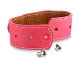 adjustable leather cuff bracelet